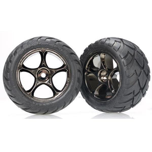 2478A Black Chrome Wheels With Anaconda Tires-(2)