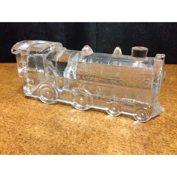 Glass Steam Locomotive Display - Swasey's Hardware & Hobbies