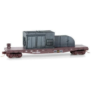 St. Louis and Southwestern Flat Car w/load Micro Trains N Scale - Swasey's Hardware & Hobbies