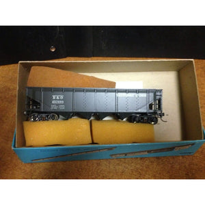 Athearn Baltimore & Ohio four bay Hopper - Swasey's Hardware & Hobbies