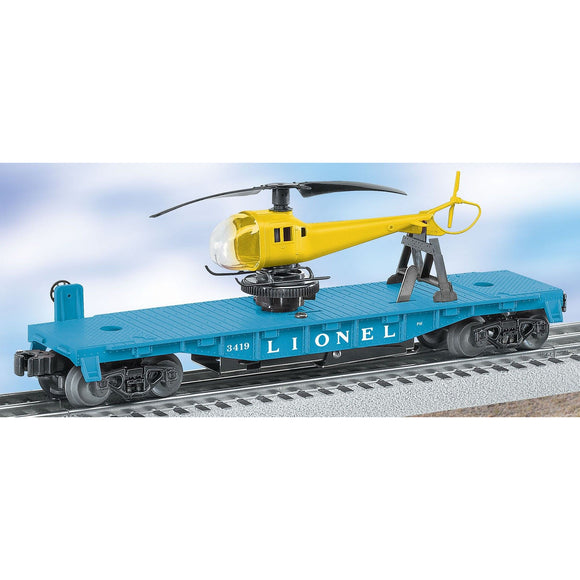 Lionel 6-29827 Helicopter Launch Car - Swasey's Hardware & Hobbies