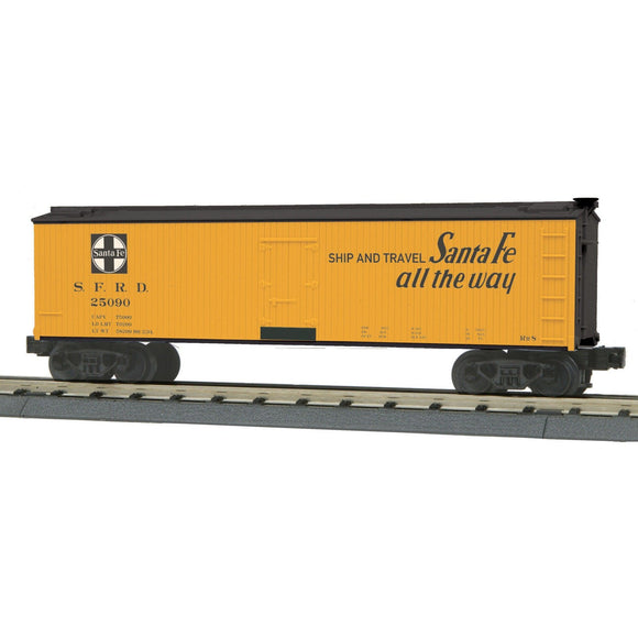 MTH Rail King 30-78165 Santa Fe Reefer Car - Swasey's Hardware & Hobbies