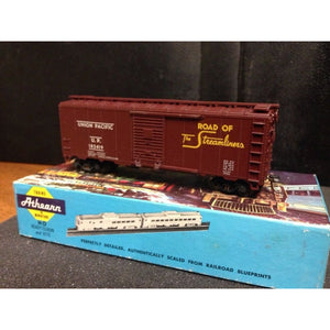 Athearn Union Pacific 40' Boxcar #182419 - Swasey's Hardware & Hobbies