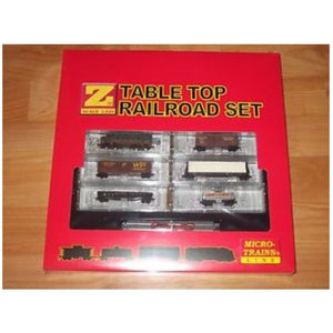 Western Pacific Table Top Railroad Z Scale Set - Swasey's Hardware & Hobbies