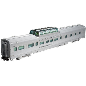 "Atlas O 2-rail Dorm-Buffet-Lounge Dome Car CB&Q ""Silver Lounge"" - Swasey's Hardware & Hobbies"