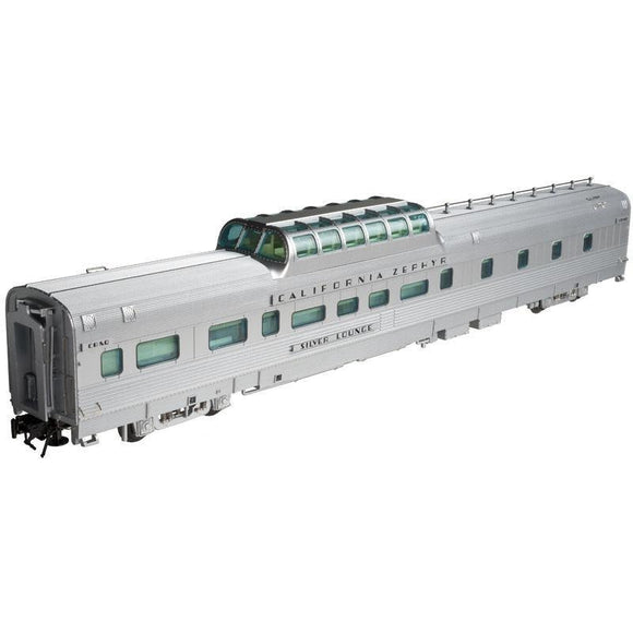 Atlas O 2-rail Dorm-Buffet-Lounge Dome Car CB&Q