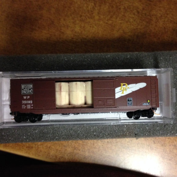 Micro Trains N Western Pacific Double Door 50' Box Car - Swasey's Hardware & Hobbies