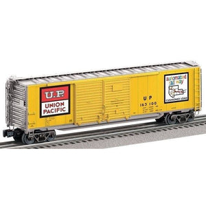 Lionel 6-27282 Union Pacific Double Door Boxcar - Swasey's Hardware & Hobbies