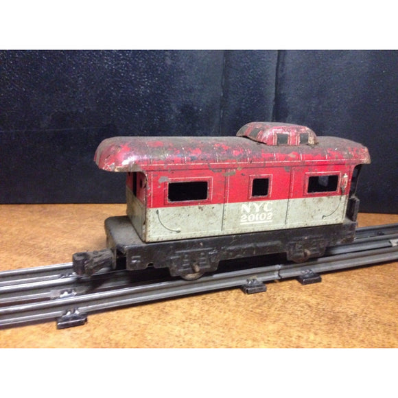 Marx New York Central Caboose - Swasey's Hardware & Hobbies