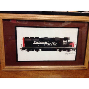1992 Southern Pacific GP40 with Oak Frame - Swasey's Hardware & Hobbies