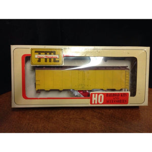 Train Miniature Undecorated Steel Reefer - Swasey's Hardware & Hobbies