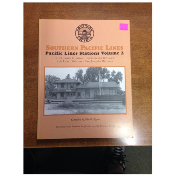 VERY RARE - Southern Pacific Lines - Pacific Lines Stations, Vol. 2 - Swasey's Hardware & Hobbies