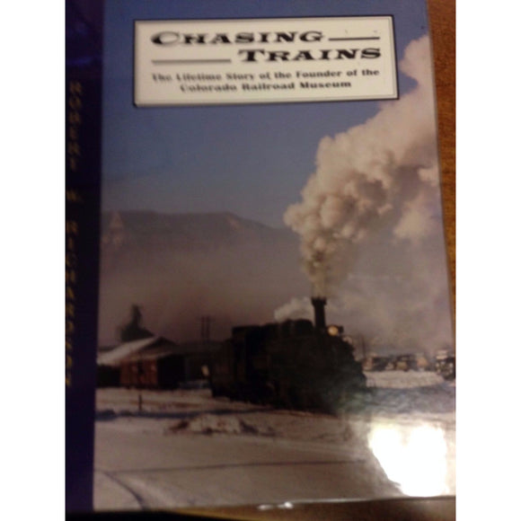 Chasing Trains - signed - Swasey's Hardware & Hobbies