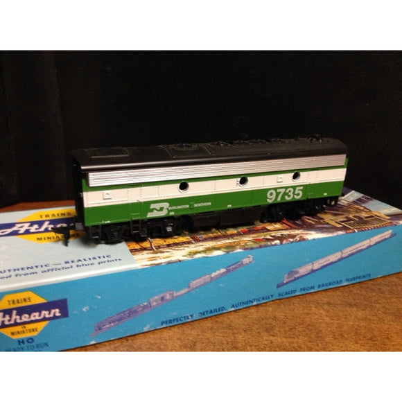 Athearn F7B Burlington Northern - Swasey's Hardware & Hobbies