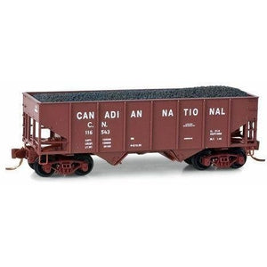 Micro Trains N Canadian National 33' Twin Bay Hopper - Swasey's Hardware & Hobbies