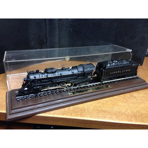 "Lionel ""Static"" 726 Berkshire HO Steam Locomotive with Display Case by Hallmark - Swasey's Hardware & Hobbies"