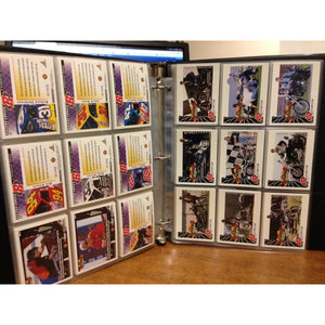 1997 Nascar Driver Cards in protective sheets and binder-113 card set - Swasey's Hardware & Hobbies