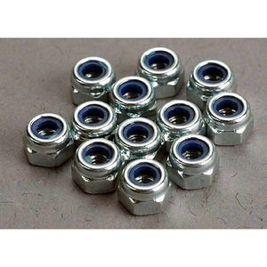 2745 Traxxas Locking  Nuts 3Mm Nylon