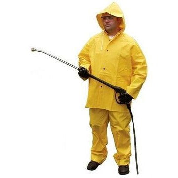 3 PIECE .35mm YELLOW RAINSUIT-CHOOSE YOUR SIZE