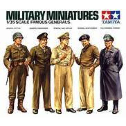 1/35 Tamiya 35118 Military Miniatures Famous Generals
