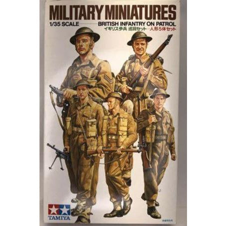 1/35 Scale Tamiya 35223 Military Miniatures British Infantry on Patrol