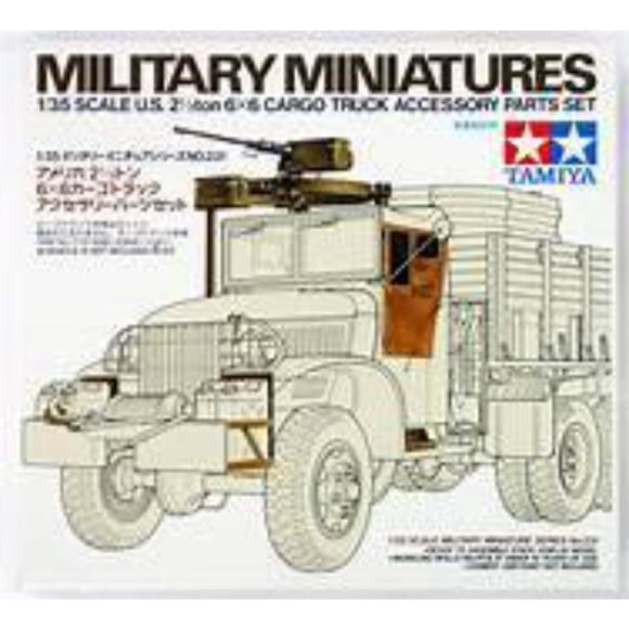 1/35 Tamiya 35231 Military Miniatures US Cargo Truck Accessory Parts Set
