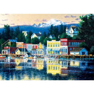 Shorelines Lakeside Afternoon - 500 pieces