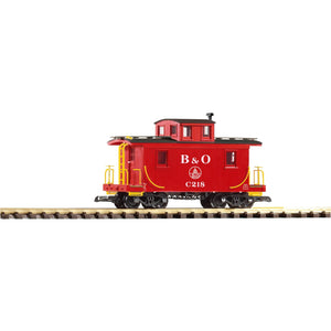 38827 B&O Wood Caboose, Red - Swasey's Hardware & Hobbies