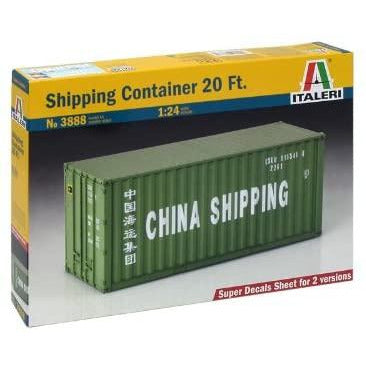 1/24 Italeri 3888 Shipping Container 20 Feet