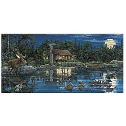 Reflections On Loon Landing - 1000 pieces