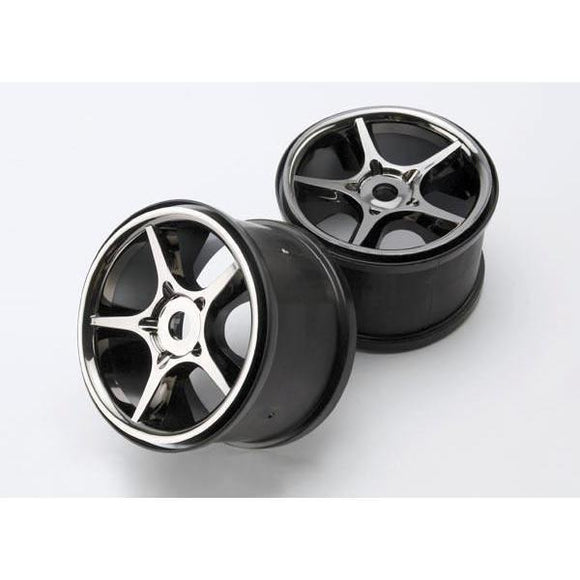 5372X Gemini Black Chrome Wheel 17Mm