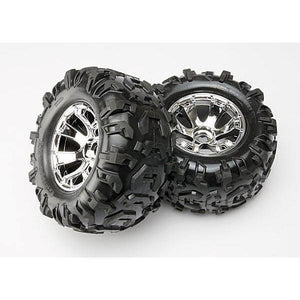 5673 Geode Chrome Wheels Canyon Tires (2)
