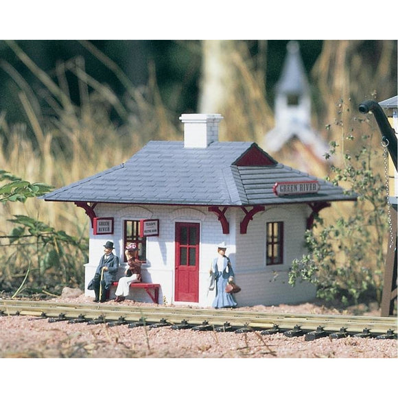 G-Scale Aunt Bertha/'s House with Bench