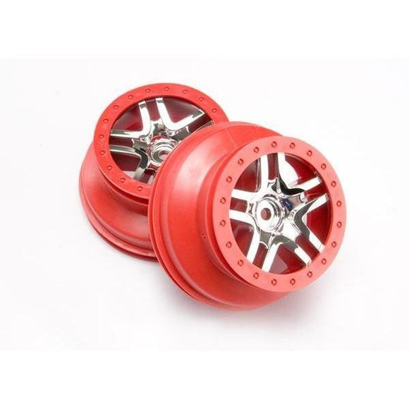 6872A Sct Splitspokered Chromewheel Rear Wdslh Slh Chromewheel(2)
