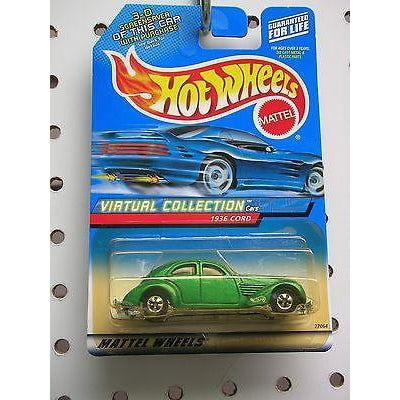 Hot Wheels Virtual Collection 1936 Cord