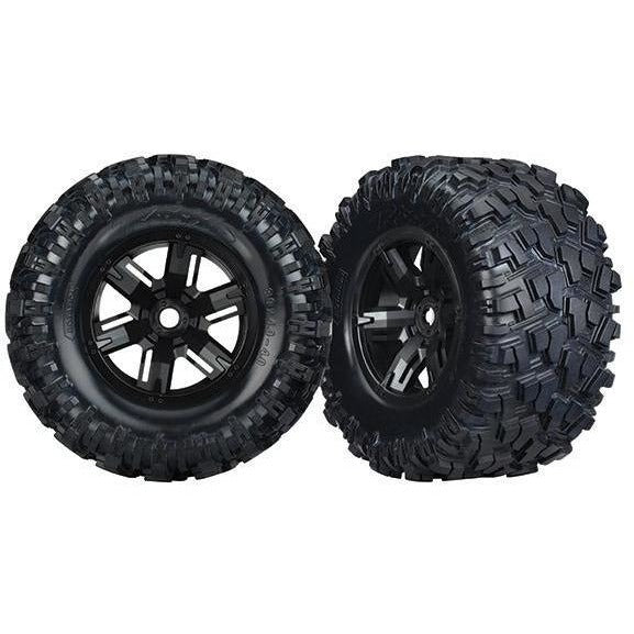 7772 Tires & Wheels, Assembled (2); Xxas X-Maxx