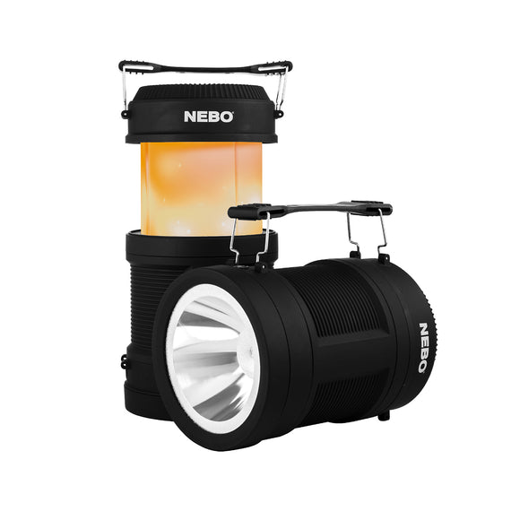 NEBO Big POPPY Rechargeable Flashlight and Lantern with Power Bank