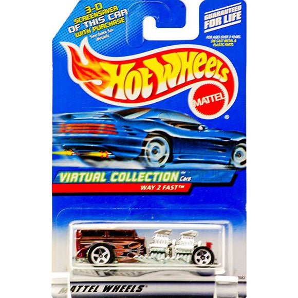 Hot Wheels Virtual Collection Way 2 Fast