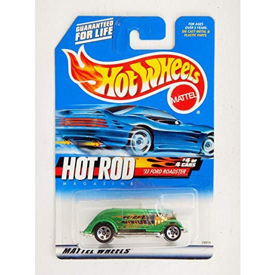 Hot Wheels HOT ROD #4 of 4 '33 Ford Roadster