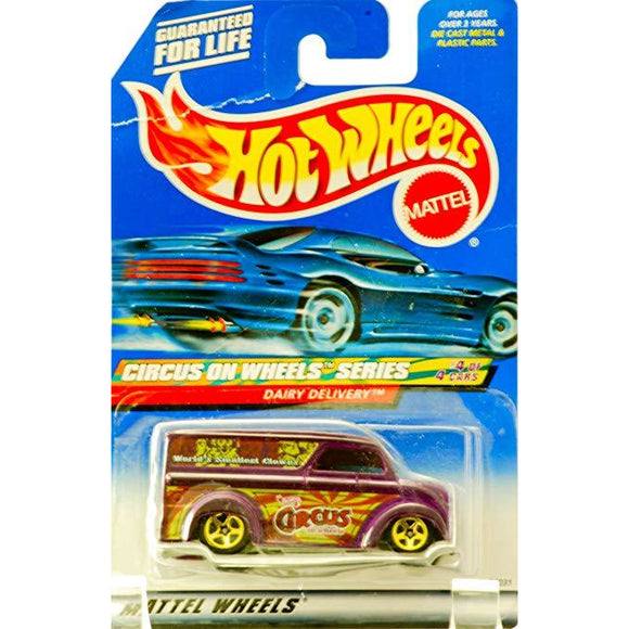 Hot Wheels Circus On Wheels Series #4 of 4 Dairy Delivery