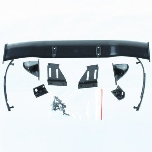 BS205-049 All plastic parts(Wing (w/wing mount), Mirrors w/chrome stickers (2), wipers (2), mounting hardware