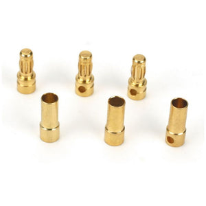 DYNC0043 Gold Bullet Connector Set, 3.5mm (3)