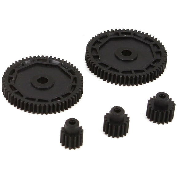 ECX212002 Pinion & Spur Gear Set WD.llB gear-set:72 - Swasey's Hardware & Hobbies