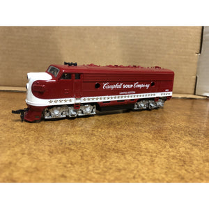 HO Scale Life-Like F7A Campbell Soup Company Locomotive #1982