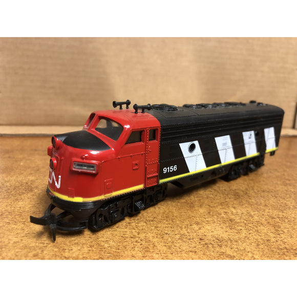 HO Scale Model Power F9 Canadian National Locomotive #9156