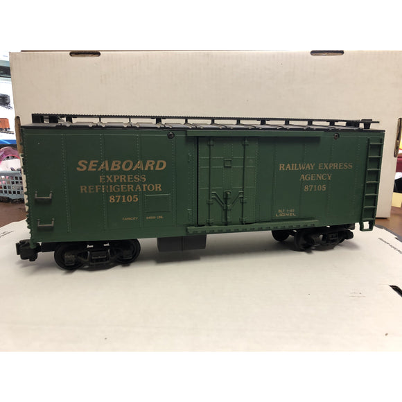 G Scale Lionel 189 Seaboard Express Reefer 87105
