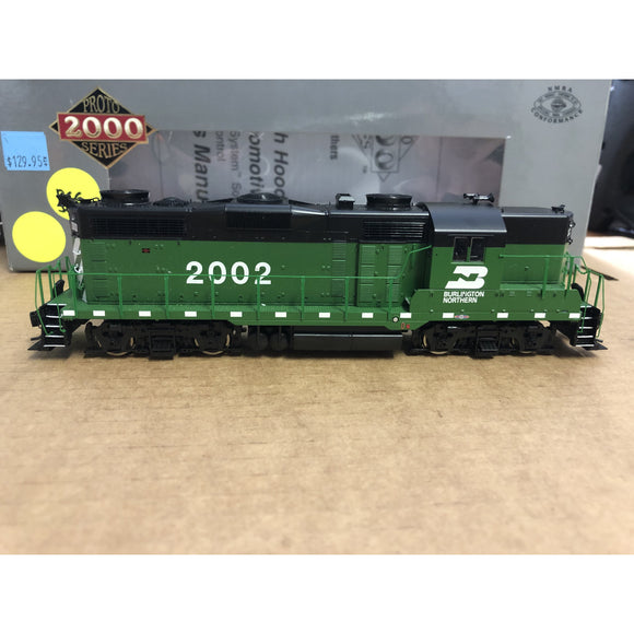 HO Scale Proto 2000 920-31897 DCC GP20 Burlington Northern with Sound
