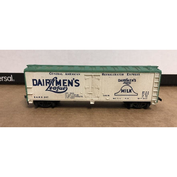 HO Scale Tyco Dairymen's League 40' Reefer 907