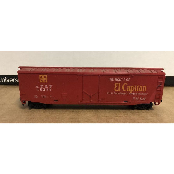 HO Scale Tyco 50' ATSF El Capitan Box Car - Made in USA