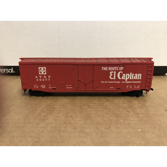 HO Scale Tyco 50' ATSF El Capitan Box Car